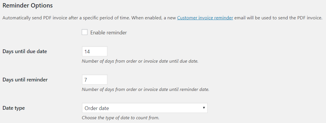 Bulk export PDF invoices